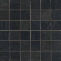 Mosaiikkilaatta NovaBell Crossover Mosaico Nero, 30x30/5x5, musta