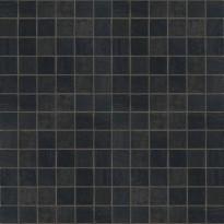 Mosaiikkilaatta NovaBell Crossover Mosaico Nero, 30x30/2,5x2,5, musta