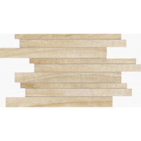Mosaiikkilaatta NovaBell Eco Dream Muretto Frassino, 30x 45, beige