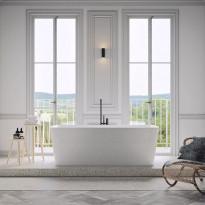 Kylpyamme Nordhem, Österskär, 1800x850x620mm, vapaasti seisova, valkoinen