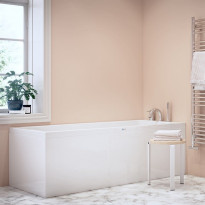 Kylpyamme Nordhem, Saltholmen Standard, 1700x700x565mm, valkoinen, symmetrinen