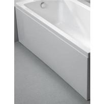 Etulevy kylpyammeeseen Nordhem Marholmen Nordurit, 1500-1700mm, eri kokoja, valkoinen