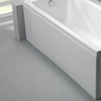 Etulevy kylpyammeeseen Nordhem, Saltholmen Nordurit, 1575mm, valkoinen