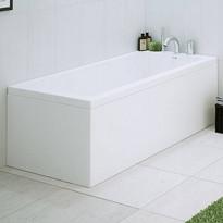 Päätylevy kylpyammeeseen Nordhem, Saltholmen Nordurit, 900mm, valkoinen