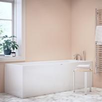 Kylpyamme Nordhem, Saltholmen Nordurit, 1500-1800x700-800mm, eri kokoja, valkoinen