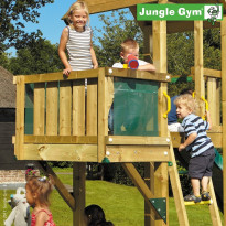Leikkikeskuksen lisämoduuli Jungle Gym Balcony