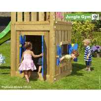 Leikkikeskuksen lisämoduuli Jungle Gym Playhouse L