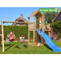 Leikkikeskus Jungle Gym Mansion, sis. keinumoduuli ja liukumäki