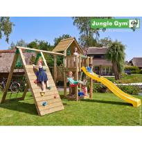 Leikkikeskus Jungle Gym Cubby, sis. liukumäki ja kiipeilymoduuli