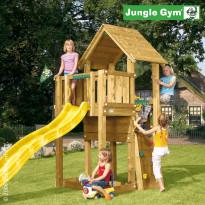 Leikkikeskus Jungle Gym Cubby, sis. liukumäki