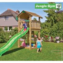 Leikkikeskus Jungle Gym Cottage, sis. liukumäki