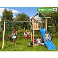 Leikkikeskus Jungle Gym Lodge, sis. keinumoduuli ja liukumäki