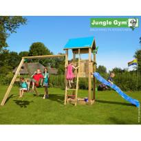 Leikkikeskus Jungle Gym Castle, sis. keinumoduuli ja liukumäki