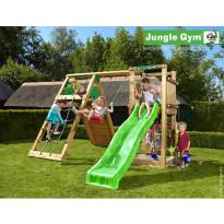 Leikkikeskus Jungle Gym Tower, sis. kiipeilymoduuli ja liukumäki