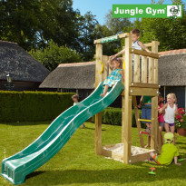 Leikkikeskus Jungle Gym Tower, sis. liukumäki