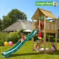Leikkikeskus Jungle Gym Cabin, sis. liukumäki