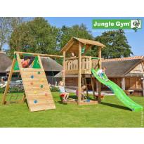 Leikkikeskus Jungle Gym Shelter, sis. kiipeilymoduuli ja liukumäki
