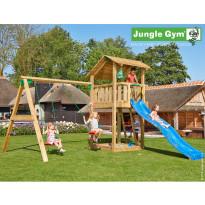 Leikkikeskus Jungle Gym Shelter, sis. keinumoduuli ja liukumäki
