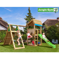 Leikkikeskus Jungle Gym Home, sis. kiipeilymoduuli ja liukumäki