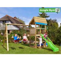 Leikkikeskus Jungle Gym Home, sis. keinumoduuli ja liukumäki