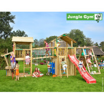 Leikkikeskus Jungle Gym Leikkiuniversumi 4, sis. liukumäet