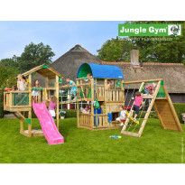 Leikkikeskus Jungle Gym Leikkiuniversumi 5, sis. liukumäet