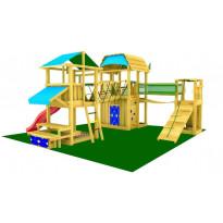 Leikkikeskus Jungle Gym Leikkiuniversumi 6, sis. liukumäet