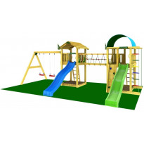 Leikkikeskus Jungle Gym Leikkiuniversumi 7, sis. liukumäet