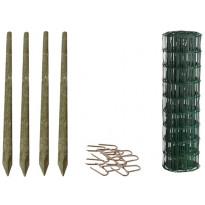 Puutarha-aitasetti Hortus, 100 m, sis. puutolpat ja tarvikkeet