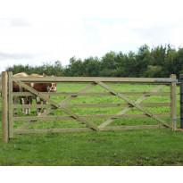 Puuveräjä Nordic Fence, 360cm, painekyllästetty