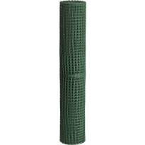 Puutarha-aita Hortus, silmäkoko 25x25mm, 1x10m, muovi, vihreä