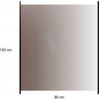 Lasikaidepaneeli Hortus alumiinitolpille, 100x90cm