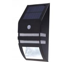 Aurinkokennovalaisin Hortus, liiketunnistimella, 1 LED/1 SMD, musta