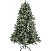 LED-joulukuusi Nordic Winter, 150x100cm, lumella, Verkkokaupan poistotuote