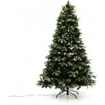 LED-joulukuusi Nordic Winter, PE/PVC-sekoite, 150x106cm