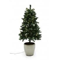 LED-joulukuusi ulkokäyttöön Nordic Winter, 120x82cm