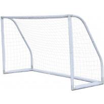 Jalkapallomaali Nordic Play Euro Goal, 2.75x1.5x0.91m, muovi, valkoinen