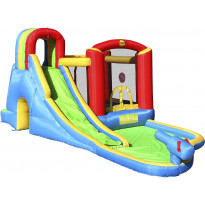Pomppulinna Happy Hop Splash Wave Fun Zone