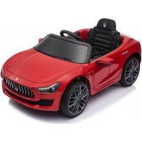 Lasten sähköauto Nordic Play Maserati Ghibli, 12V, kumipyörillä