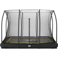 Trampoliini Salta Comfort Edition Inground, 214x305cm, musta, sis. turvaverkko