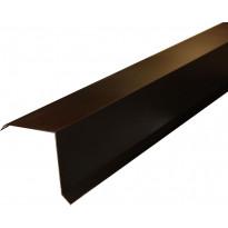 Päätyräystäspelti Onduline 100cm musta