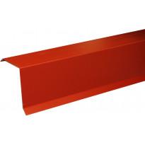 Päätyräystäspelti Onduline 200cm punainen