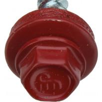 Kateruuvi Onduline 25 mm 25kpl pussi punainen