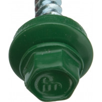 Kateruuvi Onduline 25 mm 25kpl pussi vihreä