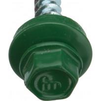 Kateruuvi Onduline 80 mm 100kpl rasia vihreä