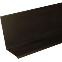 Seinälle nostopelti Onduline erikoiskulma 200cm musta