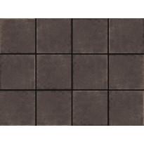 Lattialaatta LPC Tudor Brown, 10x10cm, liimatäpläarkki, ruskea