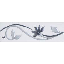 Boordi LPC Victorian Grey, 6x20cm, Luster, harmaa