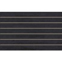 Seinälaatta LPC Minimal Nero Precut, 25x40cm, harmaa