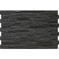 Seinälaatta LPC Aitana Negro, 33x50cm, musta